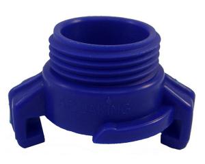 geka-koppeling-kunstof-blauw-buitendraad