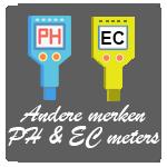 Andere merken Ph en Ec meters