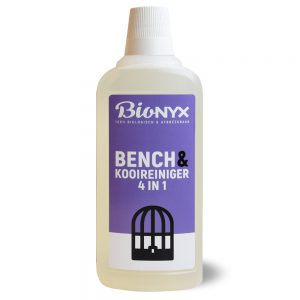 BIOnyx Bench en kooienreiniger