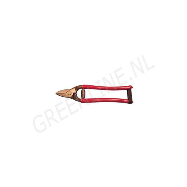 w-selected-draadschaar-rood-geisoleerd
