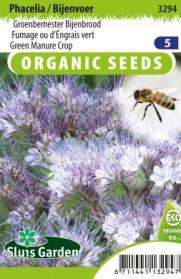 Groenbemester Phacelia/Bijenvoer