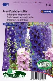 Ridderspoor Round Table Series mix (Delphinium)