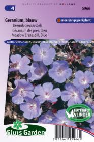 Geranium Blauw (Beemdooievaarsbek)