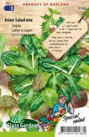 Snijsla Asian Salad mix