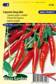 Peper Spaanse Cayenne Long Slim
