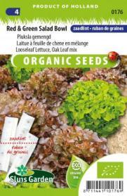 Pluksla gem. Red & Green Salad Bowl (BIO zaadlint)