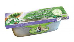 Decoratieve zaai set Tuinkers Cresso BIO in zinken bak