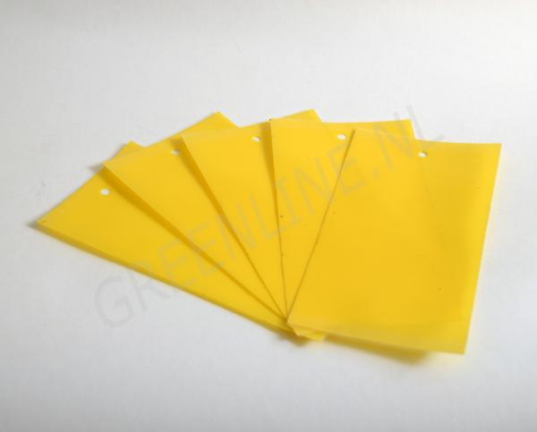 bugscan vangstrip geel 5 stuks