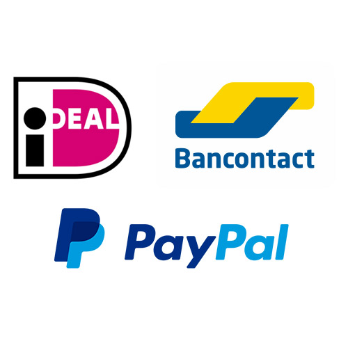 iDEAL-MisterCash-Paypal