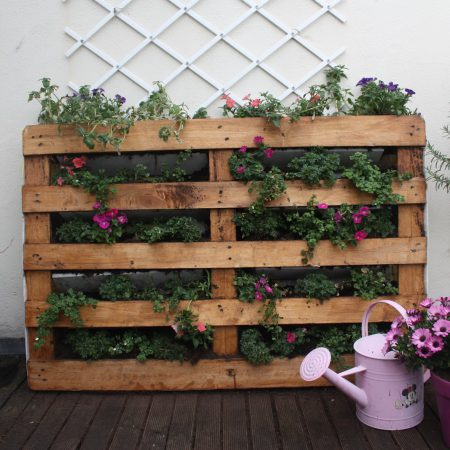The usefulness and versatility of recycled Pots in your garden